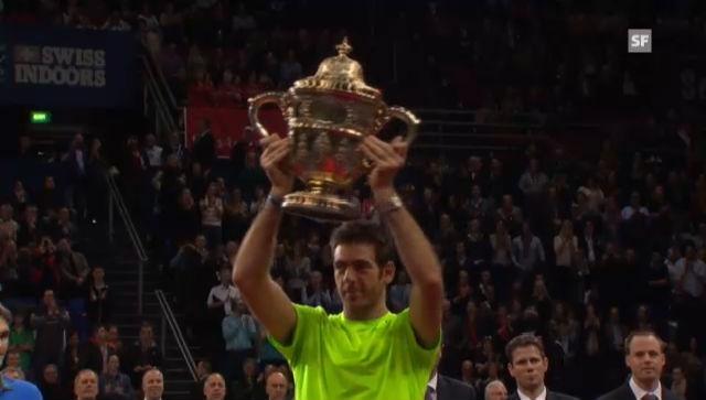 ATP Basel: Sieger-Zeremonie