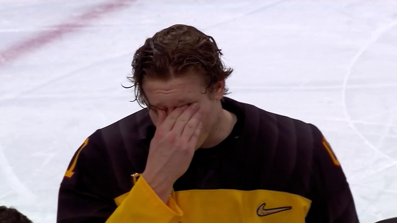 Tränen bei Jonas Müller