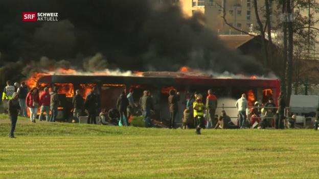 Video «Terror-Übung am Flughafen Zürich» abspielen