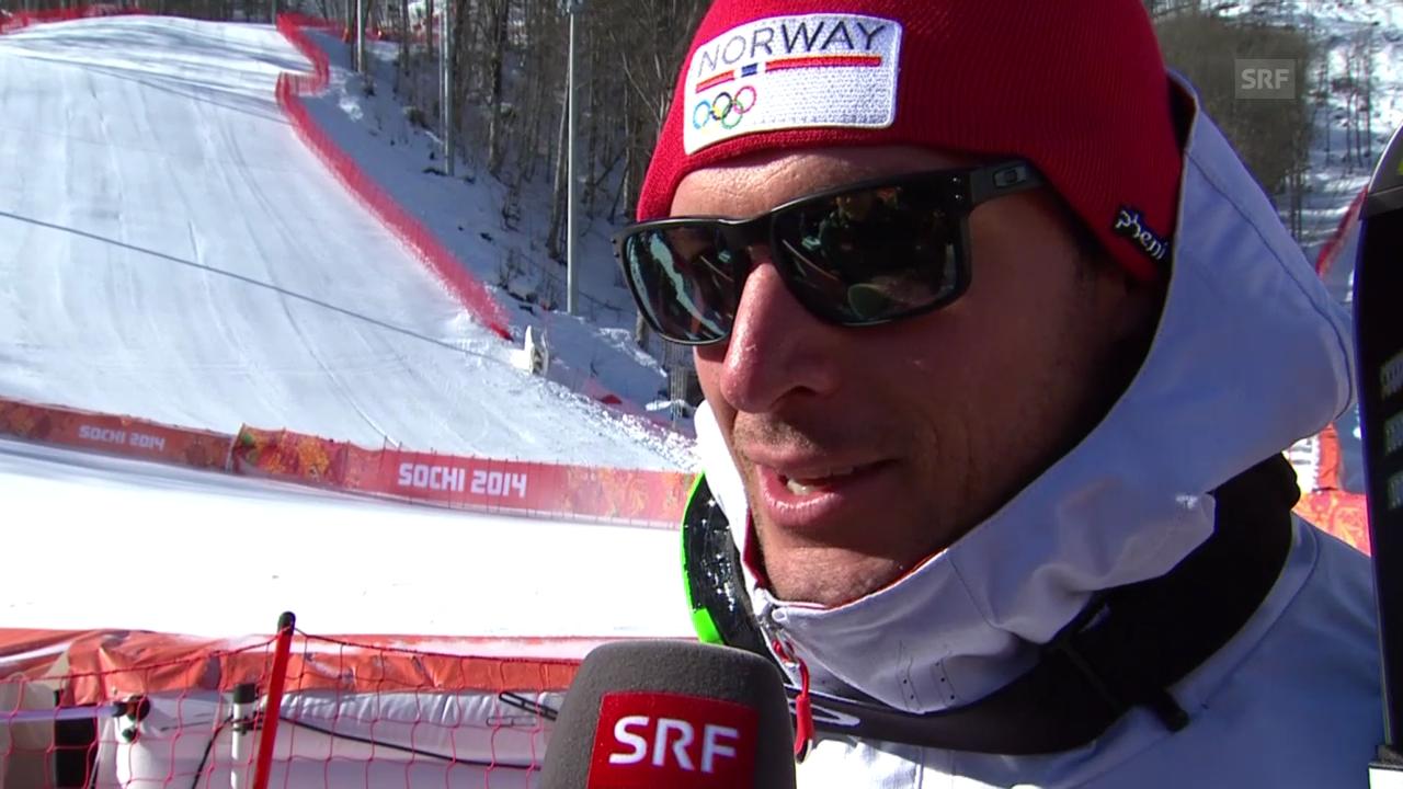 Ski: Aksel Svindal im Interview (sotschi direkt, 08.02.2014)