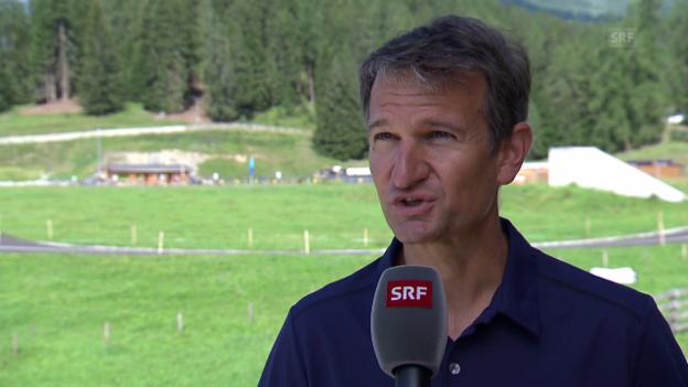 Video «Investor Hartweg: Realistisch sind Weltcup-Rennen ab 2023/24» abspielen
