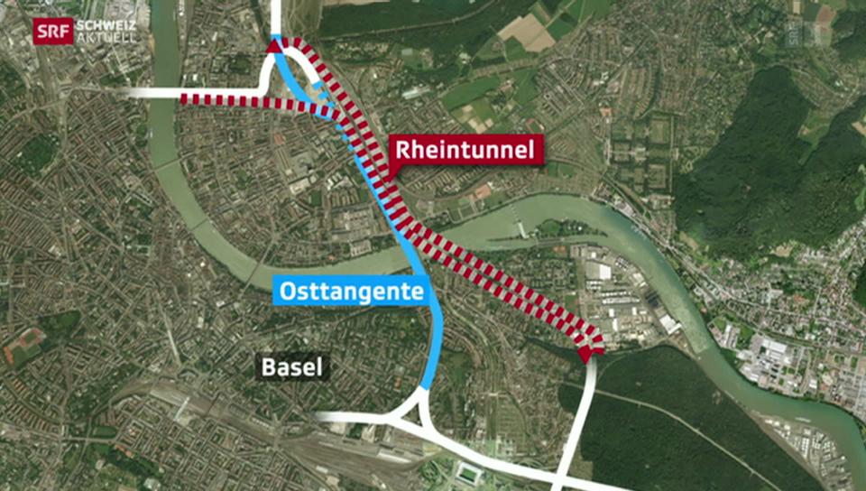 Neuer Tunnel soll Basel entlasten