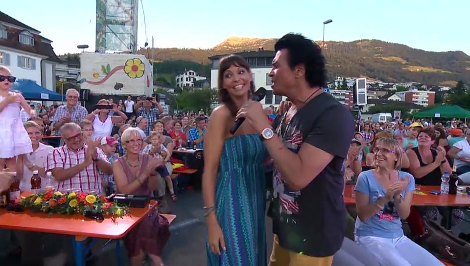 Costa Cordalis mit Sohn Lucas singt seinen Hit «Anita»