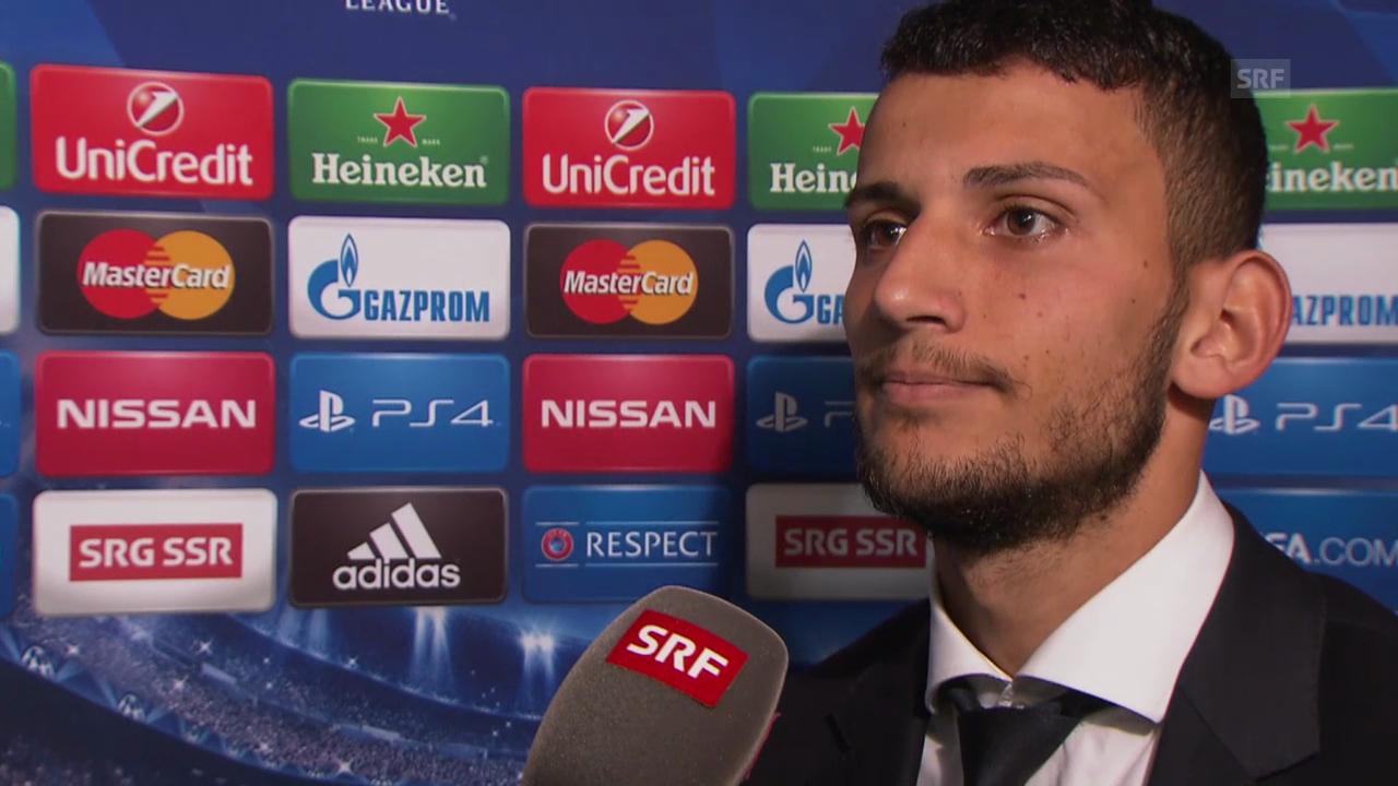 Fussball: Champions League, Naser Aliji im Interview
