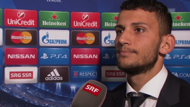 Video «Fussball: Champions League, Naser Aliji im Interview» abspielen