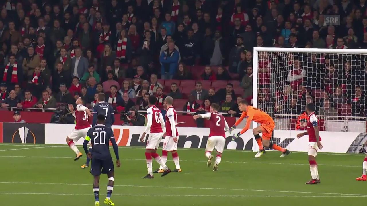 Arsenal gegen Roter Stern Belgrad endet torlos