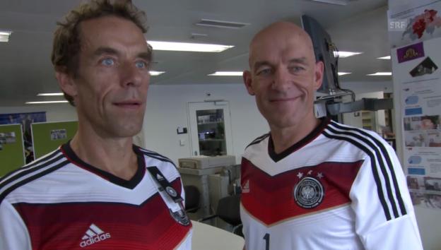 Video «Oropax über den WM-Titel und ihre Moderationsaufgabe» abspielen
