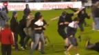 Video «Fussballgewalt – Alkohol- und weitere Verbote bringen Fans in Rage. Ein Streitgespräch.» abspielen