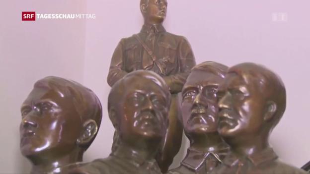 Video «Nazi-Relikte beschlagnahmt» abspielen