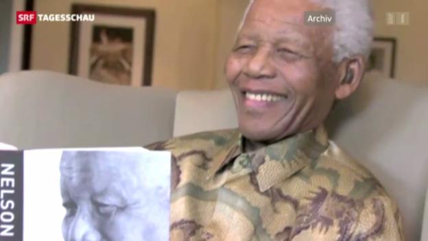 Video «Nelson Mandela wieder im Spital» abspielen