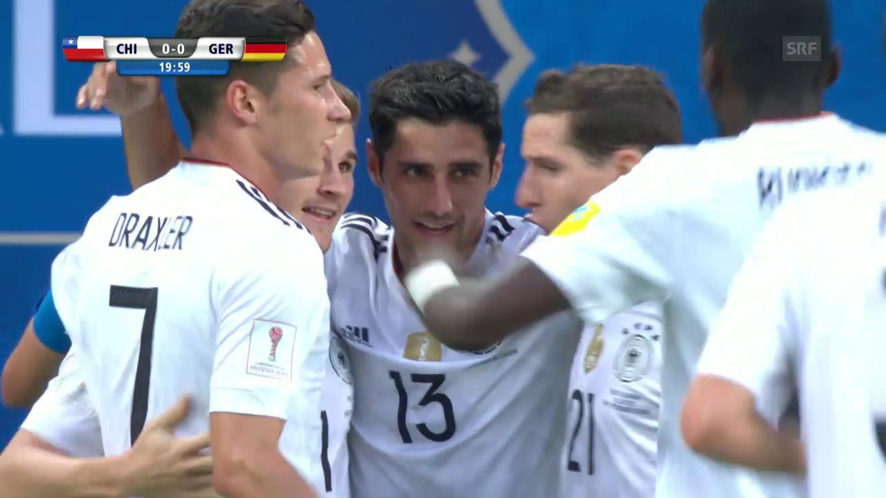 Live-Highlights Chile - Deutschland