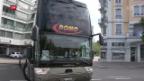 Video «Fernbusse dürfen Strecken innerhalb der Schweiz bedienen» abspielen