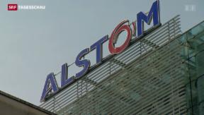 Video «General Electrics bietet Alstom 12,4 Mrd. Euro » abspielen