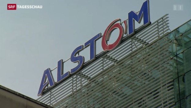 Video «General Electrics bietet Alstom 12,4 Mrd. Euro» abspielen