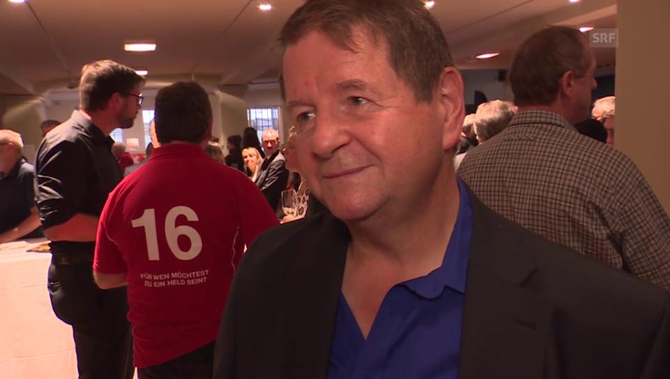 Müller-Drossaart ein Jahr nach seiner Herz-OP