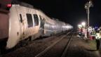 Video «Regionalzug fährt in Deutschland auf Güterzug auf» abspielen