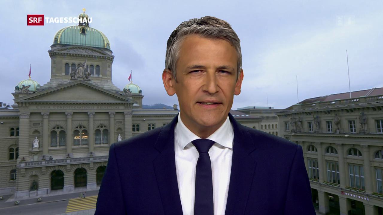 Christoph Nufer, Bundeshausredaktor SRF: «Der Kompromiss hat gute Chancen»