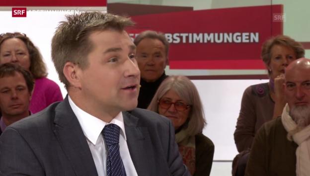 Video «Brunner: «Es ist eine Wende in der Zuwanderungspolitik»» abspielen