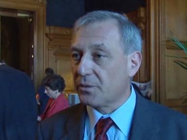 Video «Carlo Schmid zum UNO-Beitritt» abspielen