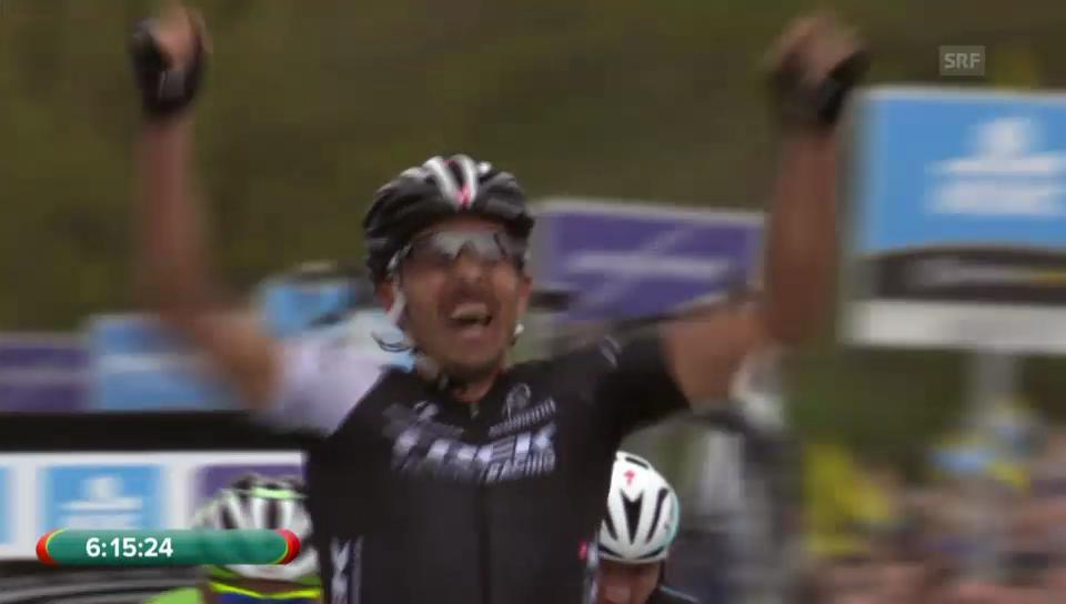Cancellara setzt sich im Vierersprint durch