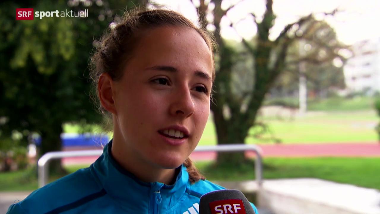 Leichtathletik: Selina Büchel vor der Heim-EM