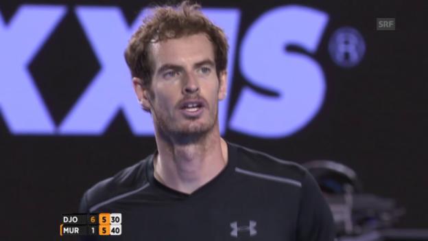 Video «Epischer Ballwechsel - 36 Mal übers Netz» abspielen
