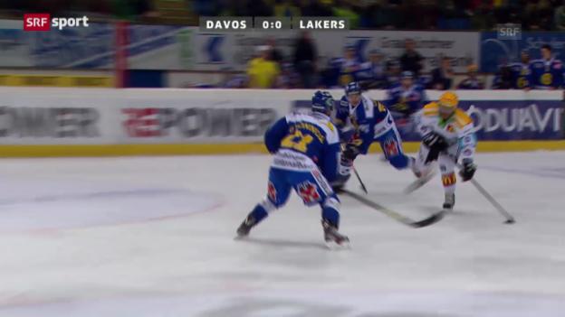 Video «Spielbericht Davos - Lakers («sportaktuell»)» abspielen
