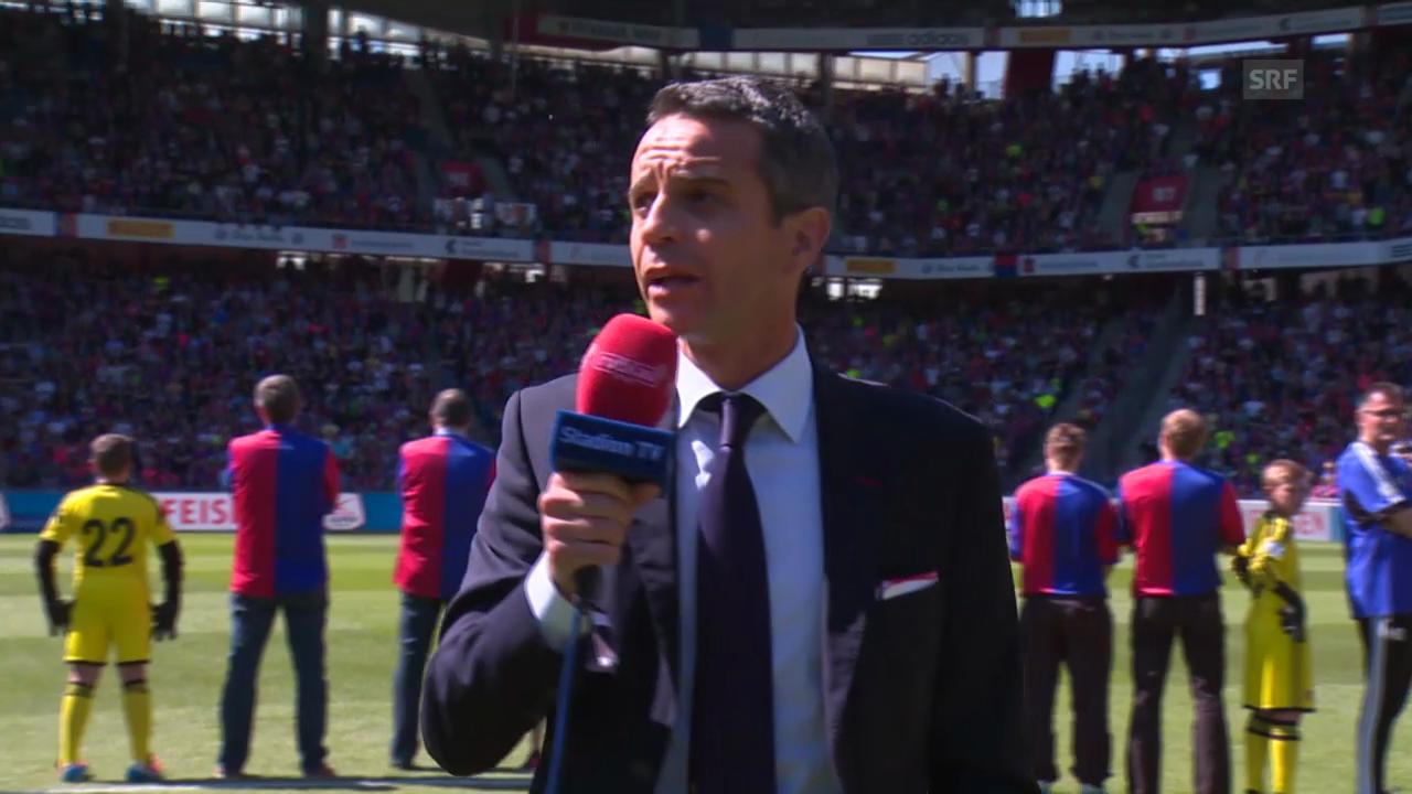 Ansprache von FCB-Präsident Bernhard Heusler