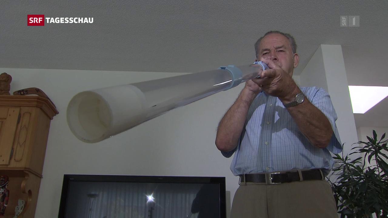 Ruhe im Schlaf dank Didgeridoo