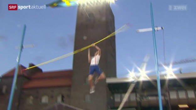 Video «Leichtathletik: Diamond League Meeting in Stockholm» abspielen
