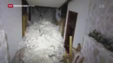 Link öffnet eine Lightbox. Video Lawine verschüttet Hotel in Farindola abspielen
