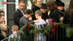 Video «Erste Trauerfeiern für Opfer von Newtown» abspielen