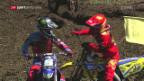Video «Motocross: Das MX2-Rennen in Frauenfeld» abspielen