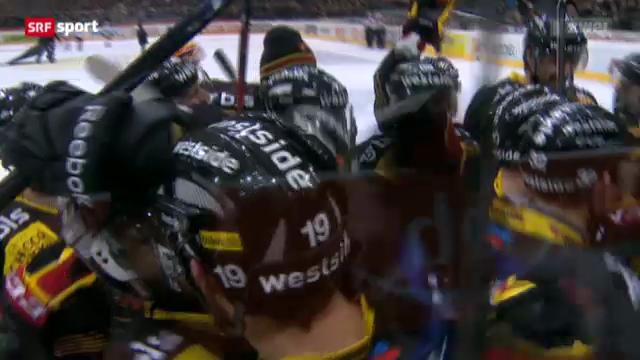 Eishockey: Bern - Zug