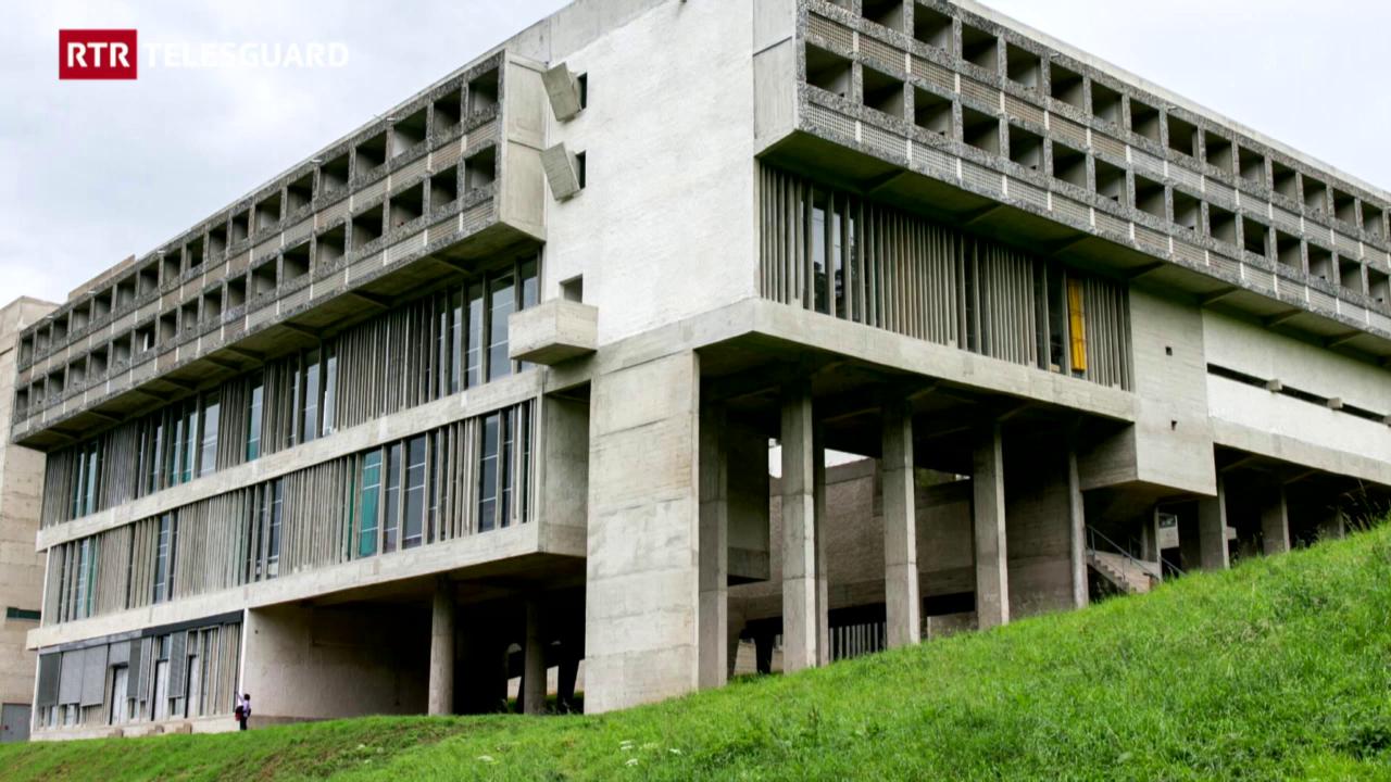 150 onns claustra da Glion - l'architectura (2/3)