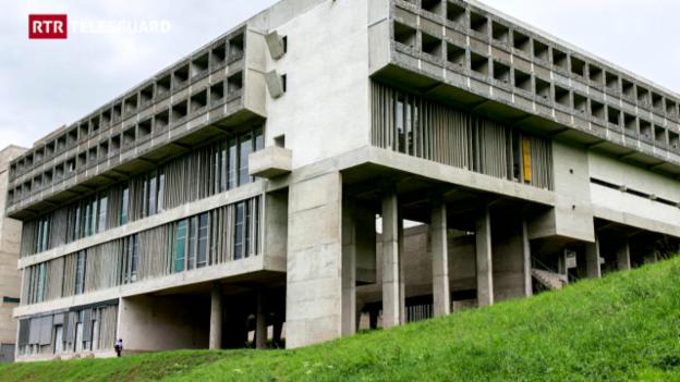 Laschar ir video «150 onns claustra da Glion - l'architectura (2/3)»
