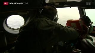 Video «Suche nach verschollenem Flugzeug » abspielen
