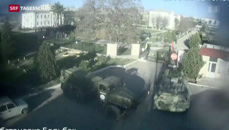 Militärmacht auf Krim