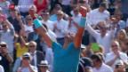 Video «Nadal zum 11. Mal im Final der French Open» abspielen