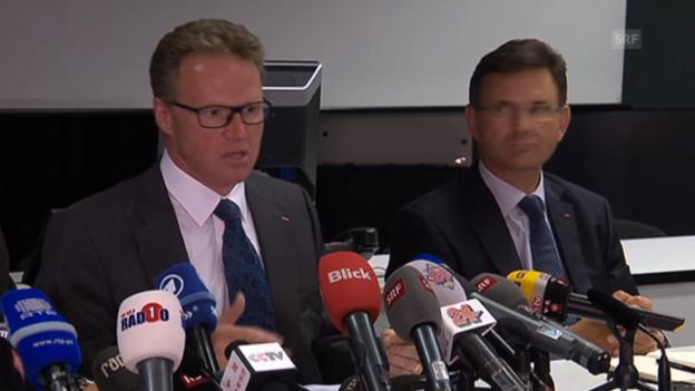 Video ««Wir haben kein Sicherheitsproblem», sagt der SBB-Chef» abspielen