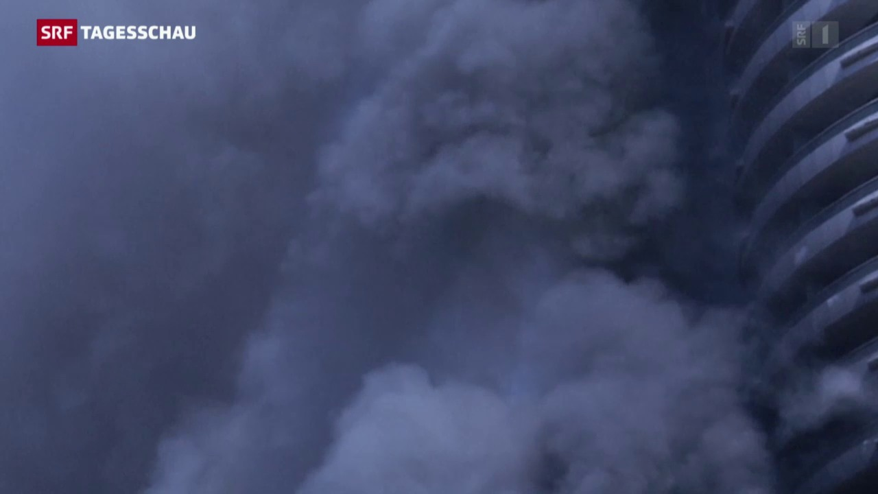 Brand im Hotel von Dubai gelöscht
