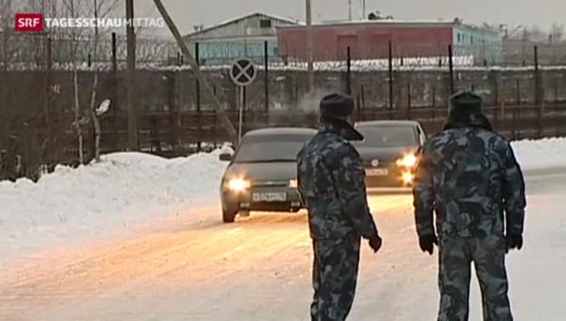 Video «Chodorkowski: Regimekritiker hat Haft verlassen» abspielen