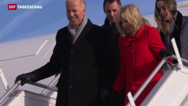Video «Bundespräsident trifft US-Vize» abspielen