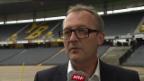 Video «Interview mit YB-Sportchef Fredy Bickel» abspielen