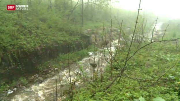 Video «Alarmbereitschaft in Beckenried und Sarnen» abspielen
