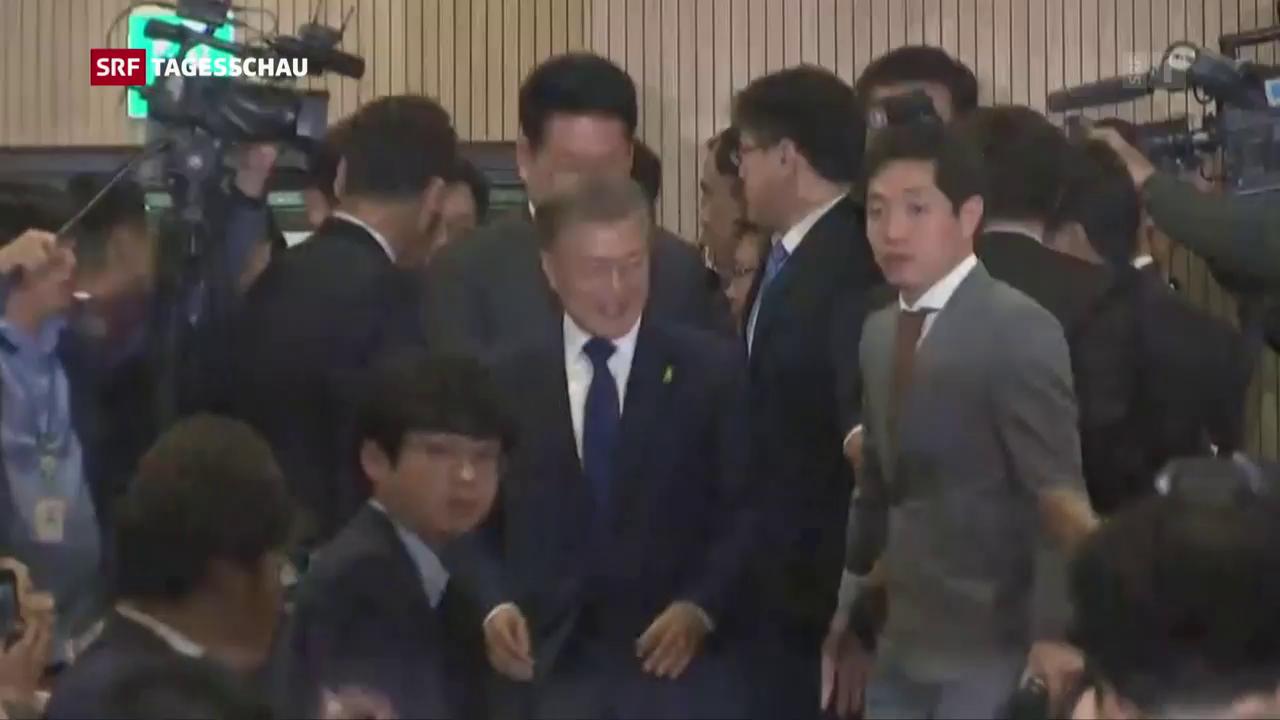 Linksliberaler Moon wird Präsident Südkoreas