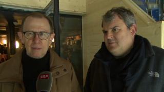 Video «Befreundete Satiriker: Viktor Giacobbo und Mike Müller» abspielen