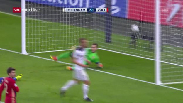 Video «Tottenham feiert Heimsieg» abspielen