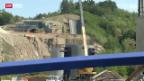 Video «Baustellenverzögerung im Bahnverkehr» abspielen