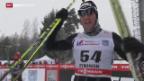 Video «Langlauf: Weltcup in Rybinsk (Russ)» abspielen